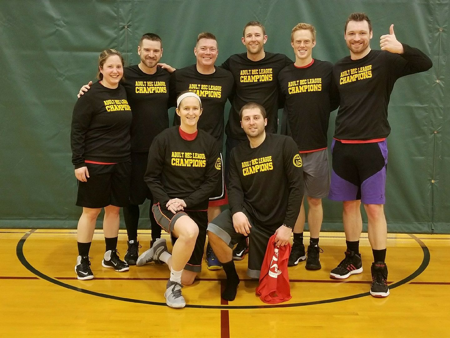 2018 Winter Monday League Champions